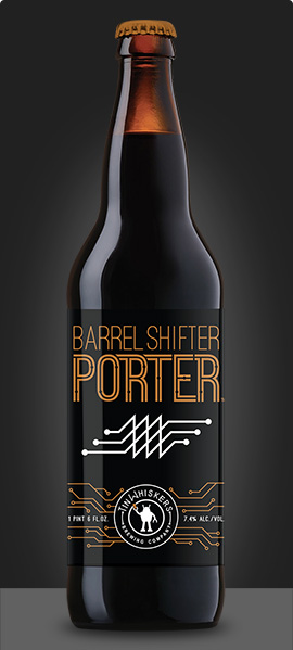 Barrel Shifter Bottle